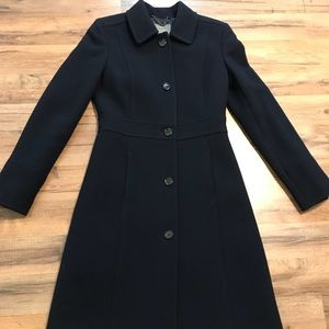 J Crew Double Cloth Lady Day Coat with Thinsulate